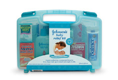 Get your free Johnson's Baby Relief Kit