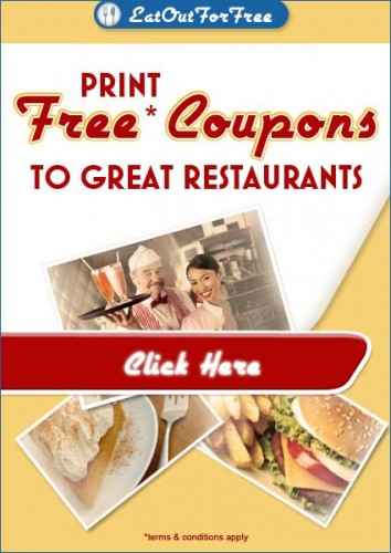 Get free food coupons