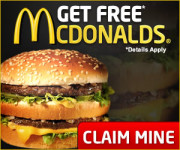 McDonald's Gift Card – For You It's FREE