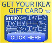 Free iKea Gift Card