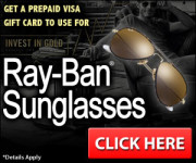 Gift Card for Ray-Ban Sunglasses