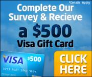 Free Visa 500 USD Gift Card