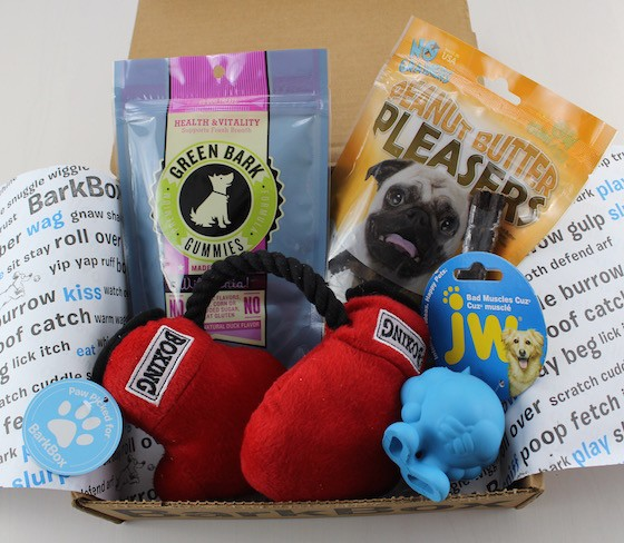 barkbox items